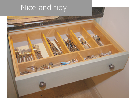 woodcrafts of oxford cutlery draw