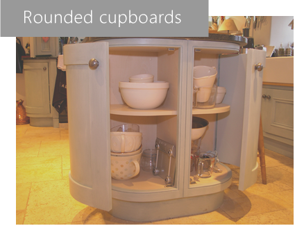 woodcrafts of oxford rounded cupboard